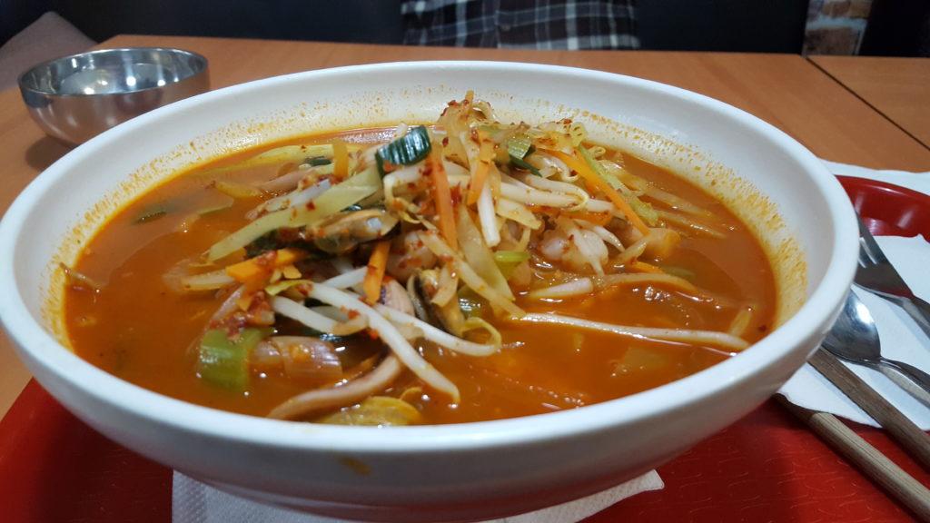 Korean Udon Soup - Korean Restaurant Dublin