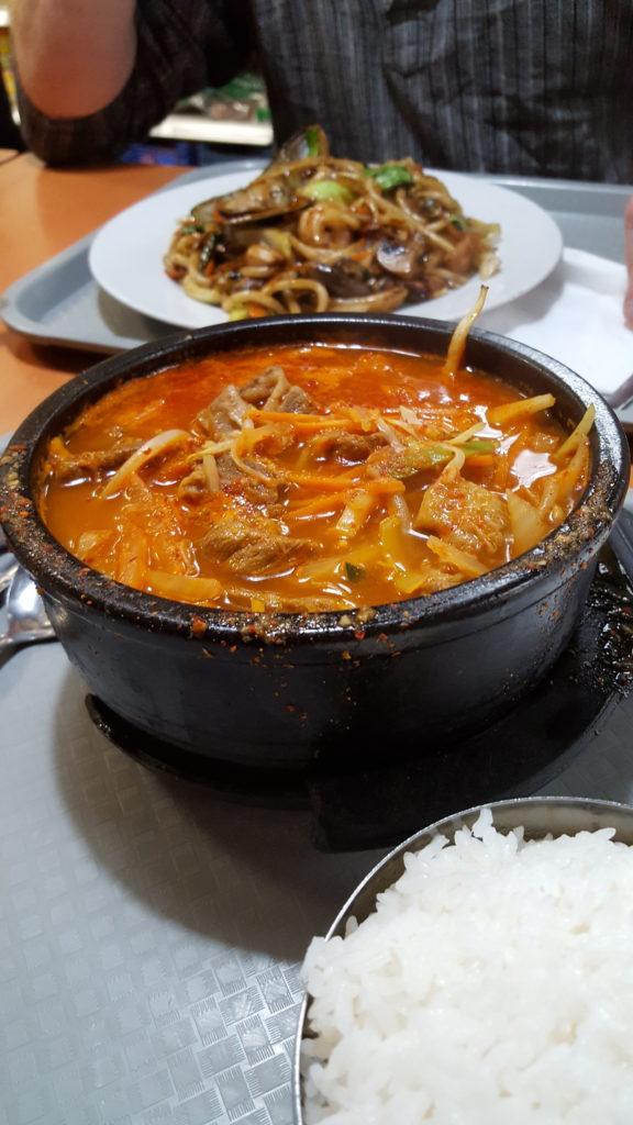 Beef Korean stew - Korean Restaurant Dublin