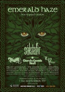 Metal festival in Dublin:  EMERALD HAZE